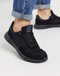 Черные кроссовки для бега Jack & Jones-Черный