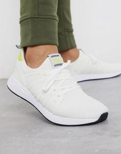Белые сетчатые кроссовки для бега Jack & Jones-Белый