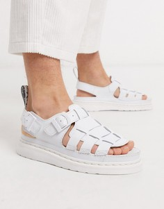 Белые сандалии Dr Martens 8092-Белый