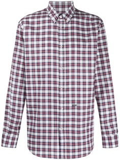 Dsquared2 клетчатая рубашка с длинными рукавами