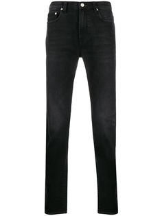 PS Paul Smith джинсы прямого кроя с эффектом потертости