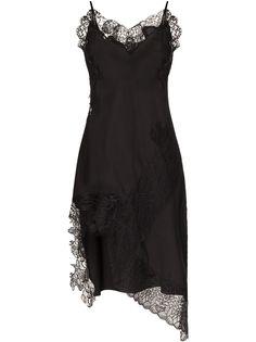 MarquesAlmeida платье-комбинация с кружевом