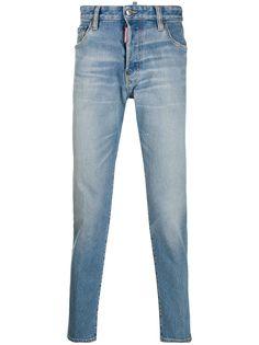 Dsquared2 джинсы прямого кроя с эффектом потертости