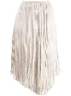Vince плиссированная юбка миди