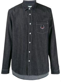 Kenzo джинсовая рубашка Signature
