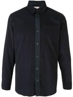 Cerruti 1881 рубашка с контрастной застежкой