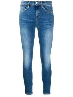 Pinko укороченные джинсы скинни с завышенной талией