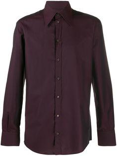 Dolce & Gabbana жаккардовая рубашка в мелкую точку