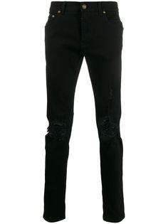 Dolce & Gabbana джинсы скинни с эффектом потертости