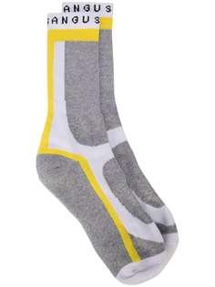 Angus Chiang носки в стиле колор-блок