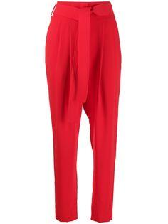 P.A.R.O.S.H. брюки с завышенной талией и поясом