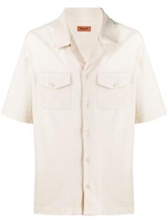 Missoni полосатая рубашка с короткими рукавами