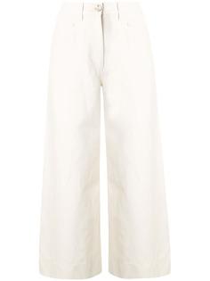 Kenzo джинсы широкого кроя с завышенной талией