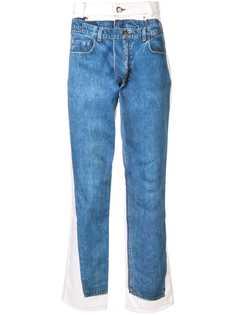 Andrea Crews джинсы кроя слим с принтом