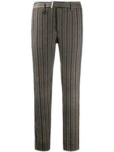 Lorena Antoniazzi зауженные брюки в полоску