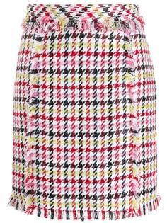 Karl Lagerfeld юбка в ломаную клетку