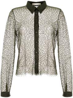 Dion Lee кружевная рубашка