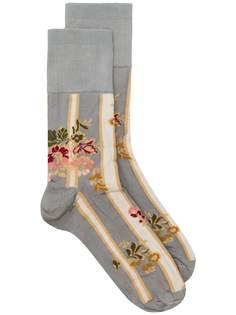Simone Rocha носки с цветочным узором