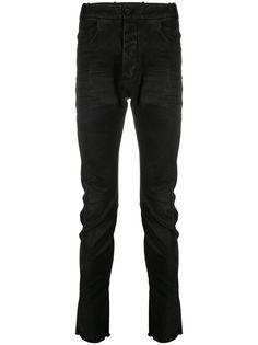 Masnada джинсы скинни с заниженной талией