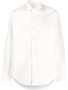 Eleventy рубашка оверсайз с длинными рукавами