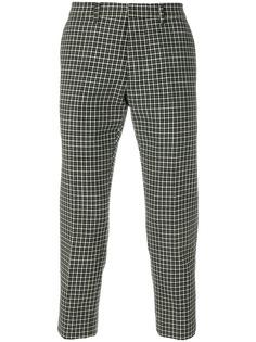 Ami Paris укороченные брюки