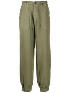 R13 зауженные брюки карго