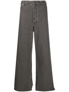 Magliano джинсы широкого кроя с бахромой