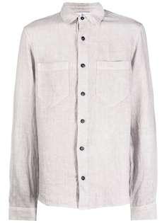 Stone Island рубашка с накладными карманами