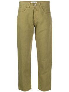 YMC брюки прямого кроя
