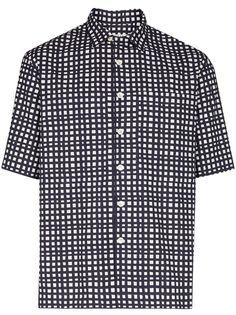 Loreak Mendian клетчатая рубашка с короткими рукавами