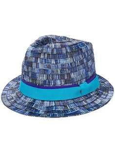 Paul Smith плетеная шляпа в стиле колор-блок