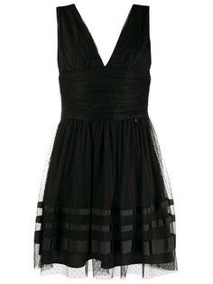 LIU JO коктейльное платье с V-образным вырезом