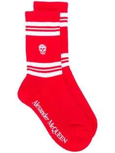 Alexander McQueen носки с вышивкой