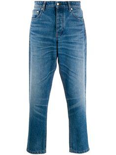 Ami Paris зауженные джинсы с пятью карманами