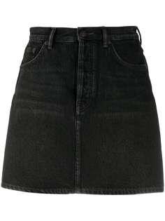 Acne Studios джинсовая юбка с завышенной талией