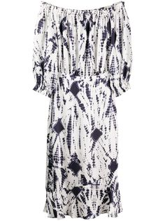 Essentiel Antwerp платье миди с открытыми плечами