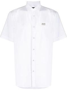 Philipp Plein рубашка с короткими рукавами и логотипом