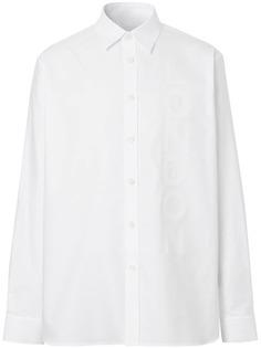 Burberry рубашка оксфорд London