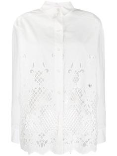See by Chloé удлиненная рубашка с вырезами