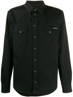 Dolce & Gabbana джинсовая рубашка с карманами