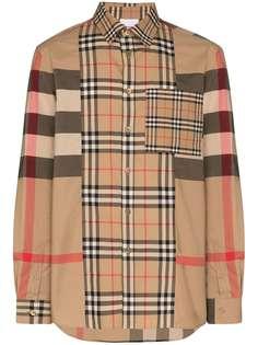 Burberry рубашка Tisdale в клетку Vintage Check