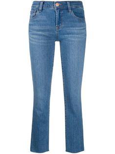 J Brand укороченные джинсы Alana средней посадки