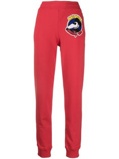 Moschino спортивные брюки Mickey Rat