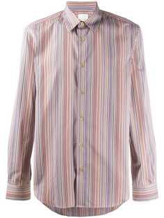Paul Smith полосатая рубашка с длинными рукавами
