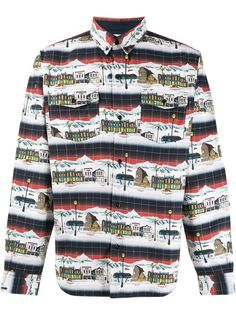 Billionaire Boys Club рубашка с длинными рукавами и принтом