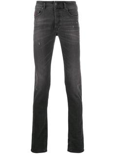 Diesel джинсы скинни Sleenker-X средней посадки