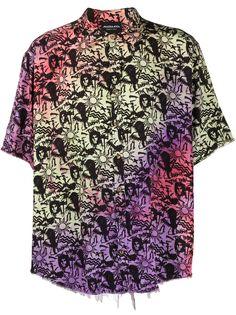 Mauna Kea рубашка с короткими рукавами и вышивкой