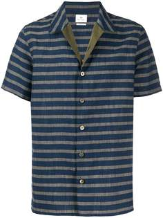 PS Paul Smith полосатая рубашка с короткими рукавами