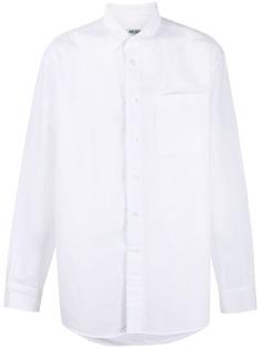 Kenzo рубашка с вышитым логотипом