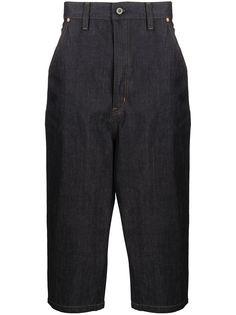 Junya Watanabe MAN укороченные джинсы с завышенной талией